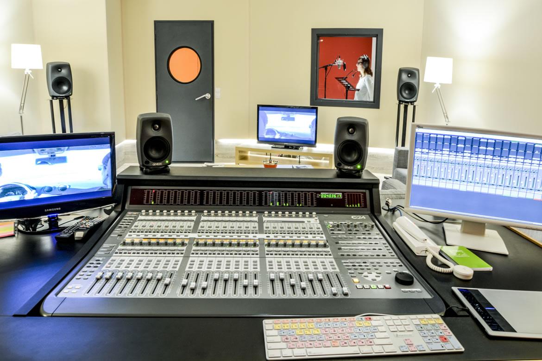 Recording studio Spain