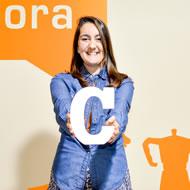 Cristina Cuevas. Ideasonora recording studios Spain.