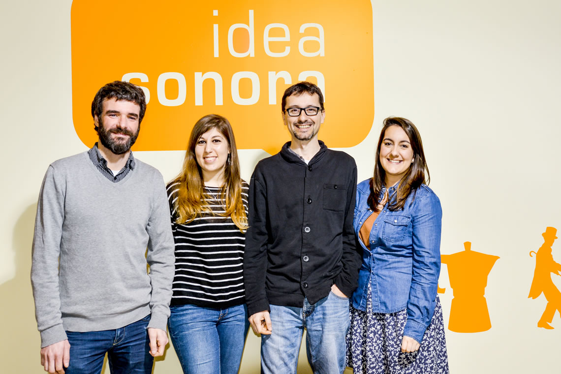 Ideasonora team. Recording studios Barcelona